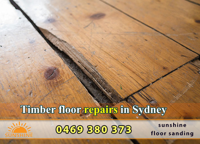 Timber floor repairs in Sydney + [Sanding and Polishing]
